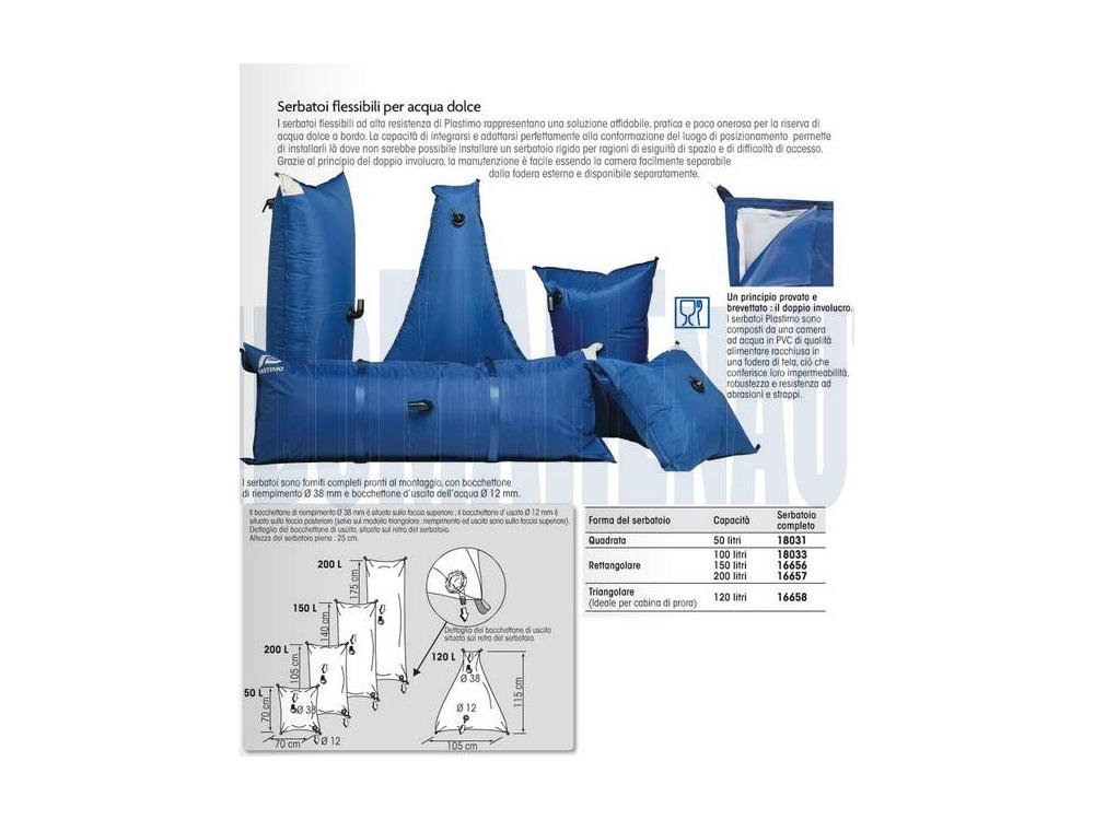 Serbatoio acqua dolce flessibile in vendita serbatoi for Serbatoio di acqua di rame in vendita
