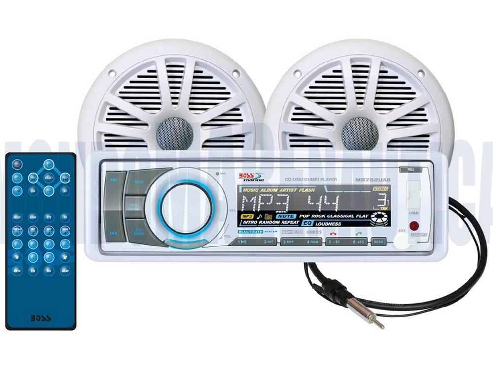 Stereo Boss Marine Mr752uab In Vendita  Audio  Elettronica