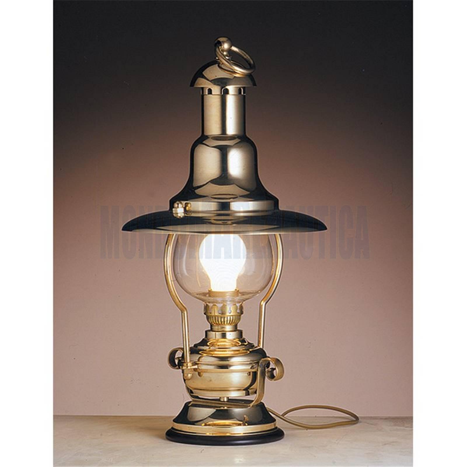 Lampada Da Tavolo Ottone Lanterna Elettrica In Vendita Lampade Old Navy Vecchia Marina Arredo E Oggettistica Vendita Lampada Da Tavolo Ottone Lanterna Elettrica